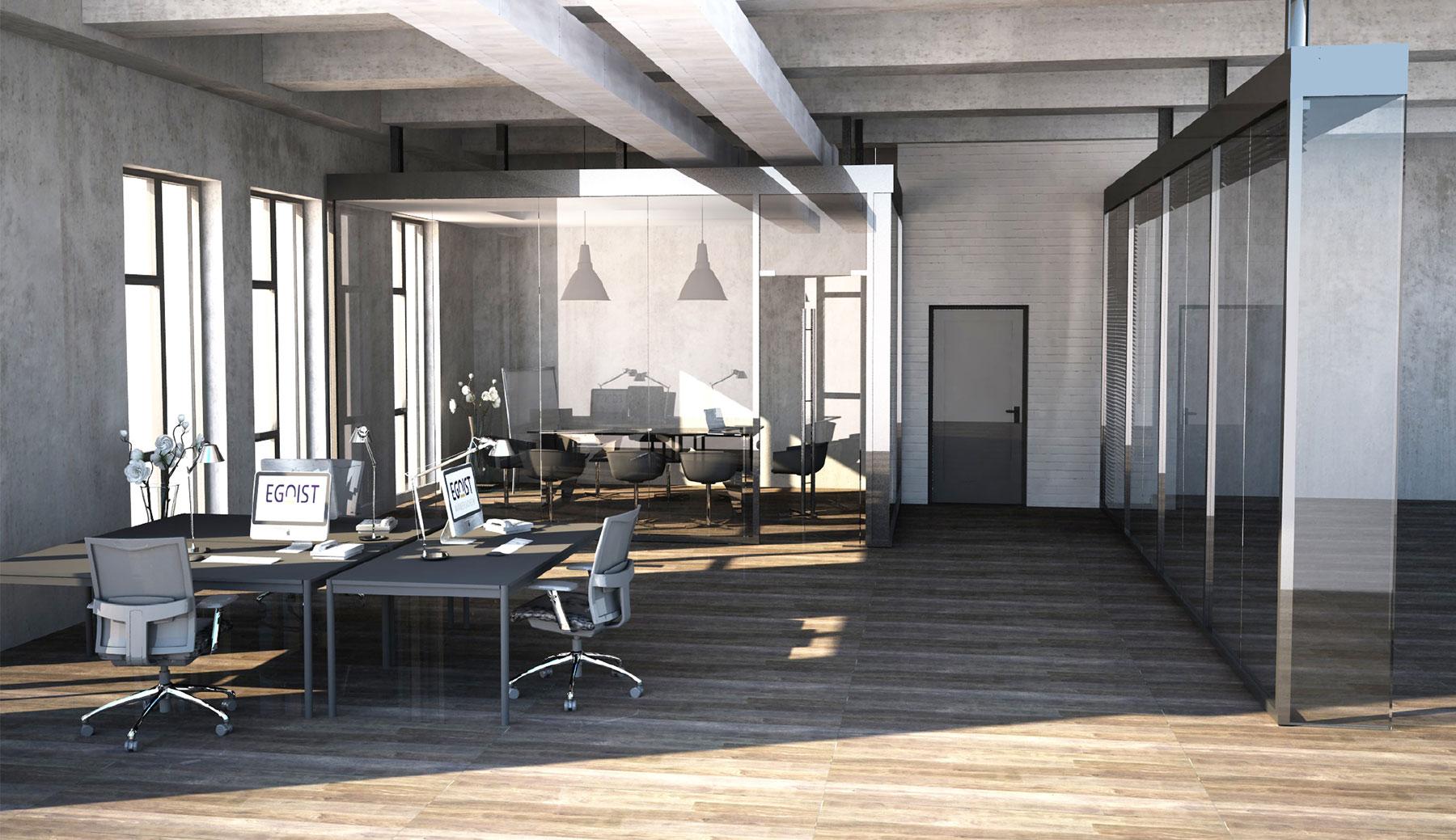 Referenz EGO_IST Büro Innenarchitektur SDW DESIGN