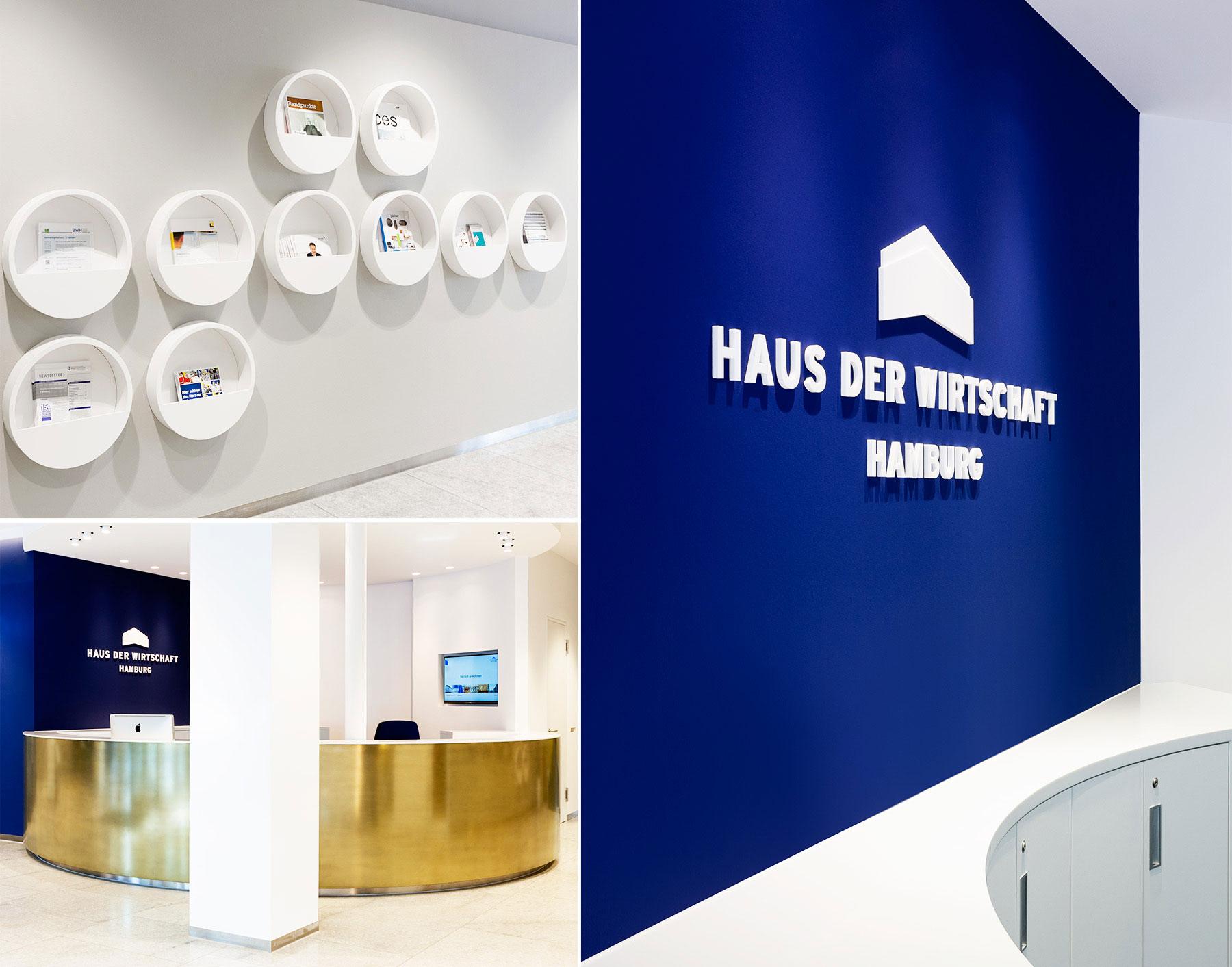 Referenz Innenarchitektur SDW DESIGN Haus der Wirtschaft Hamburg