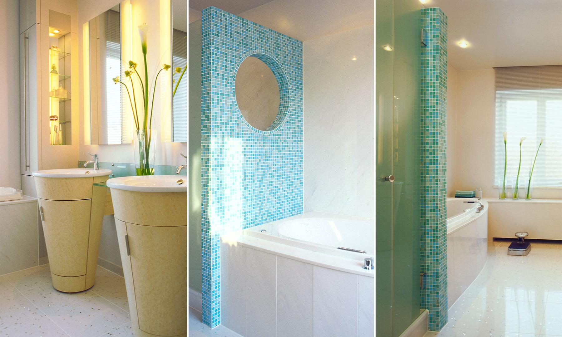 Referenzen Innenarchitektur SDW DESIGN Privathaus Badgestaltung