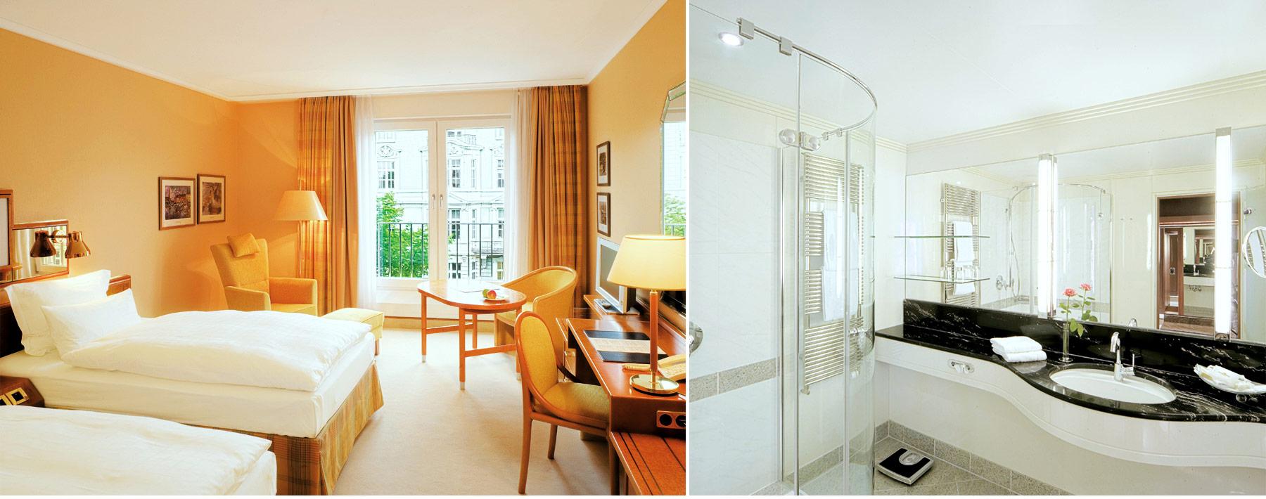 Referenz Innenarchitektur SDW DESIGN hotel grand elysee Zimmerausstattung
