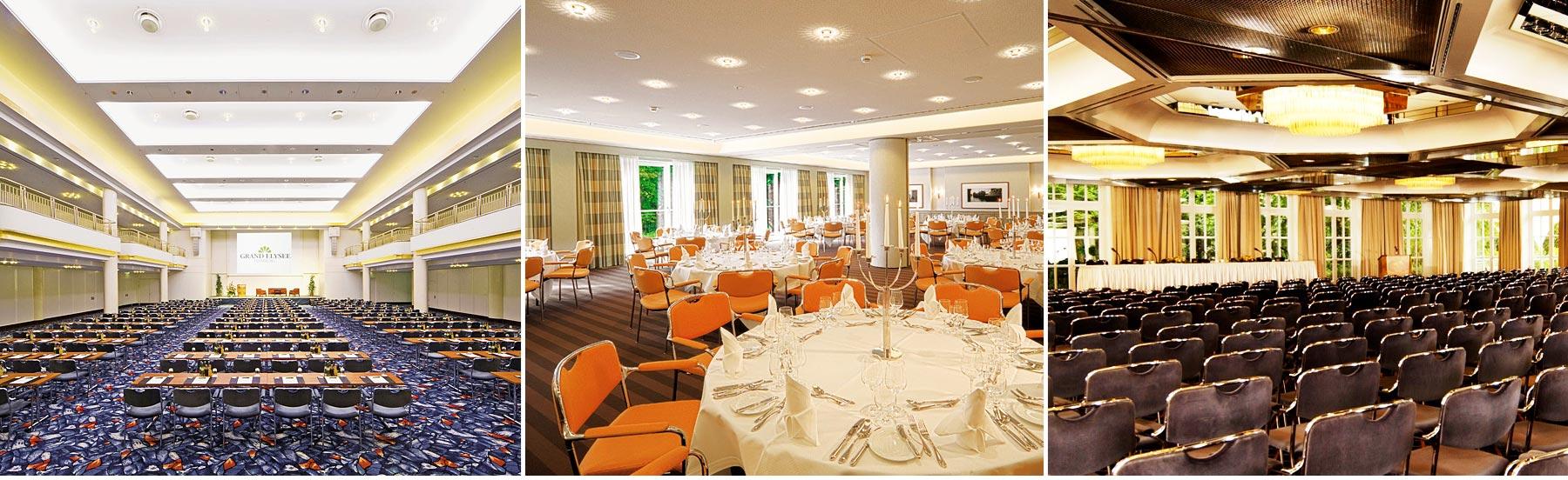 Referenz Innenarchitektur SDW DESIGN hotel grand elysee Saalgestaltung