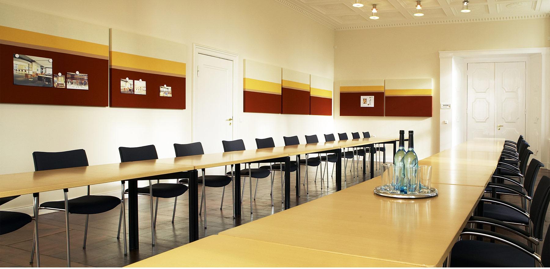 Referenz Innenarchitektur SDW DESIGN Schloss Hasenwinkel Konferenzraum Gestaltung